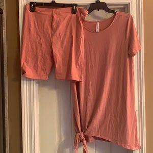 Tunic with Matching shorts